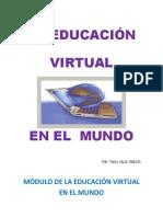 EDUCACIÓN VIRTUAL EN EL MUNDO