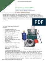 Cargo Hold Cleaning Kit & Chemical Washing Technics