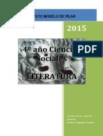 Cuadernillo Modelo Literatura 4º-1 2015