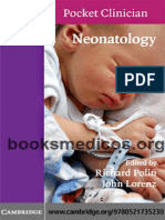 Neonatology Cambridge Pocket Clinician
