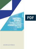 AELE - MTPE - Directivas, Informes y Precedentes - 2013