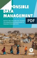 Responsible Data Management training pack