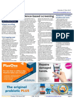 Pharmacy Daily for Mon 27 Mar 2017 - PSA call for evidence-based screening, Millions missing out on vaccines, Pharmacy-led review for diabetes, Weekly Comment and much more