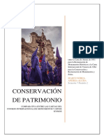 Analisis Comparativo Cartas ICOMOS