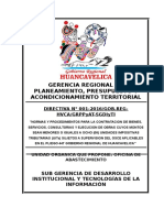 Directiva 01-2016 Compras Menores a 8 Uit