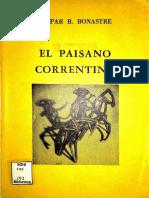 Gaspar Bonastre, El Paisano Correntino