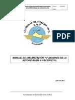 Manual de Organizaciones y Funciones aac