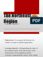 6th Social Studies the Northeast New 1