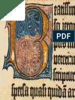 Biblia Gutemberg Iluminuras