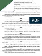 Convención Interamericana Para Prevenir y Sancionar La Tortura
