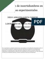 Evaluación de Incertidumbres en Medidas Experimentales