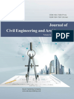 Issue 6, 2014 Journal of Civil Engineering and Architecture