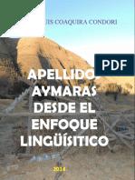 APELLIDOS AYMARAS DESDE EL ENFOQUE LINGUISTICO.pdf