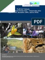 1. Perfil Del Visitante Al Parque Nacional Montecristo