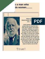 A Man Who Understands Women