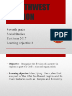 7th Sw Region People and Economy