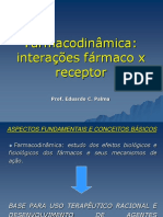 Aula_Farmacodinâmica e Receptores