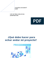 Admin de Proyectos