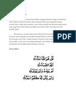 Al Ikhlas Ayat 3