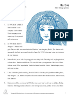 summary our barbies ourselves emily prager Transcript of emily prager our babies, ourselves barbie and ken feminist movement similarities  emily prager our barbies, ourselves according to emily prager.