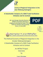 Analysis of Trade Facilitation in GMS (ESCAP) 2009