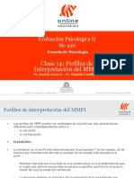 Perfiles de interpretación del MMPI