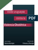 VocesUruguayasContralaViolenciaObstetrica2014