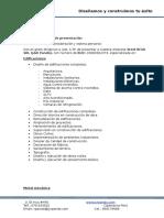 Carta de Presentación J&Rpando Parque Arauco
