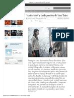 _Anticristo_ y La Depresión de Von Trier - Extracine
