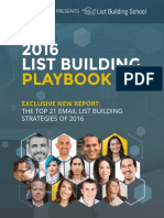 List Building School_Playbook