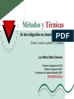 Presentación Sobre Métodos y Técnicas de Investigación en Cs
