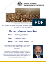 DFAT 2017 Flyer RefugeesJordan