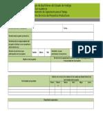 Informe Inicial de Proyectos Productivos