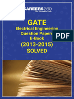 GATE Electrical Engineering Question & Answer Key