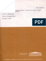 Handbook of Piezoelectric Crystals for Communications Electronics