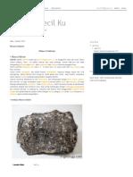 Coretan Kecil Ku_ Mineral Siderite