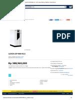 Jual LEXOS EP-960-XLS - UPS, Power Backup, Stabilizer, Genset Murah.pdf