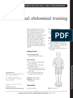 Abdominal Exercises - Functional