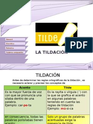 0b64c6811 Tildacionn | Onomástica | Lingüística