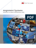 Alignment Systems Products and Services Overview DOC 01.400 05-09-13 En