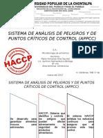 Appcc-sistema de Análisis de Peligros y de Puntos Críticos de Control