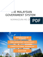 Mpu3172 Chapter 3 the Malaysian Government System