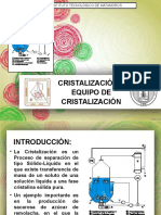 Cristalizacion