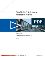 Control-O SolveWare Reference Guide