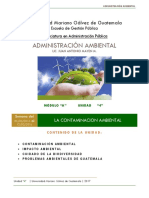 Unidad 2 Administración Ambiental