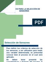 Criterios de Seleccion de Sensores (1)