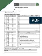 Formato de Plan de Trabajo Docente 2016