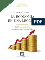 Economía en Una Lección - Hazlitt