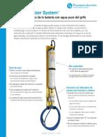DEIONIZADOR Philadelphia Scientific Brochure Español