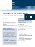 Value of Imported Goods April 2011 Web
